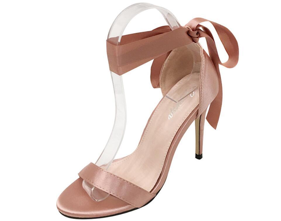 Designer Dresses Shoes Pink Black High