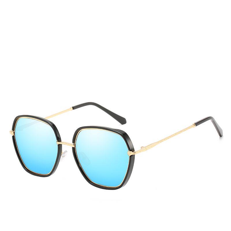 Top Quality Women's Sunglasses Ladies Brand Designer Fashion Multilateral Sunglasses Polygon Fashion Show Glasses Ladies Awesome Sunglasses