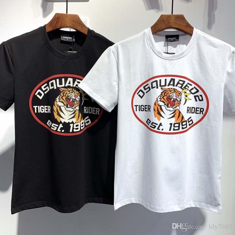 2020ss primavera e verão novo algodão de alta qualidade impressão de Manga Curta T-Shirt Do Painel de pescoço redonda Tamanho: m-l-xl-xxl-xxxl y87