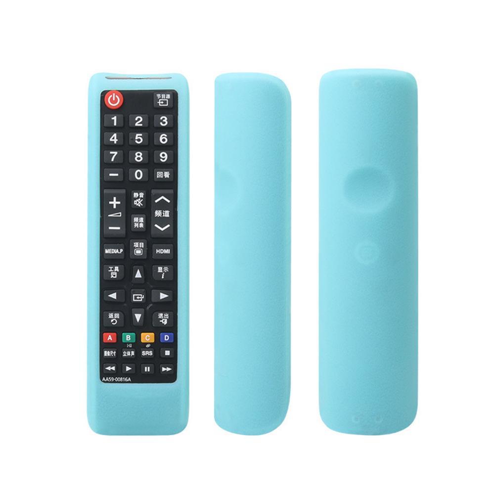 Amovible TV Protecteur solide Accessoires Housse de protection Télécommande Couverture souple Accueil anti-choc de silicone durable pour Samsung