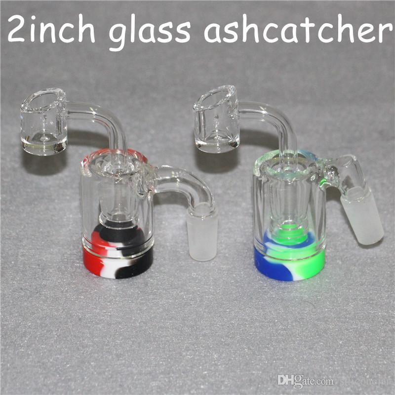Glass Reclaim Catcher Adapter 14mm Male 45 90 With Reclaimer Dome Nail Ash Catcher Adapter For Glass Water Bongs Dab Rigs quartz banger
