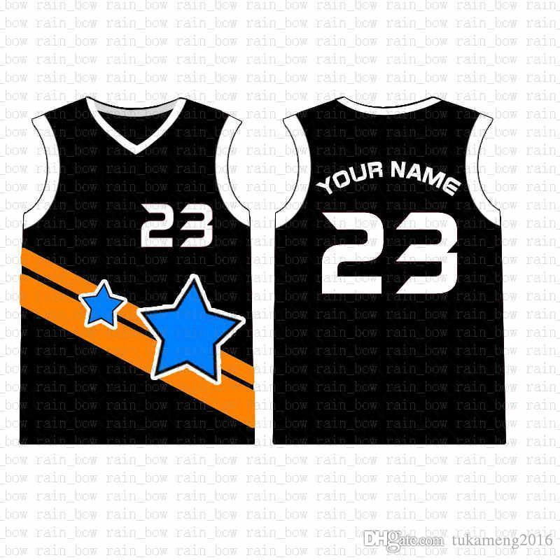 2019 الجديدة مخصصة لكرة السلة جيرسي جودة عالية رجالي التطريز الشحن المجاني شعارات أعلى بنسبة 100٪ خياطة salea1 32