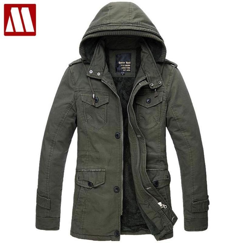 2016 Nuovo design di inverno del rivestimento Hoody del cotone degli uomini di cotone imbottito cappotto Outwear Casul giacche cappotto all'ingrosso di vendita al dettaglio in Asia S-6XL