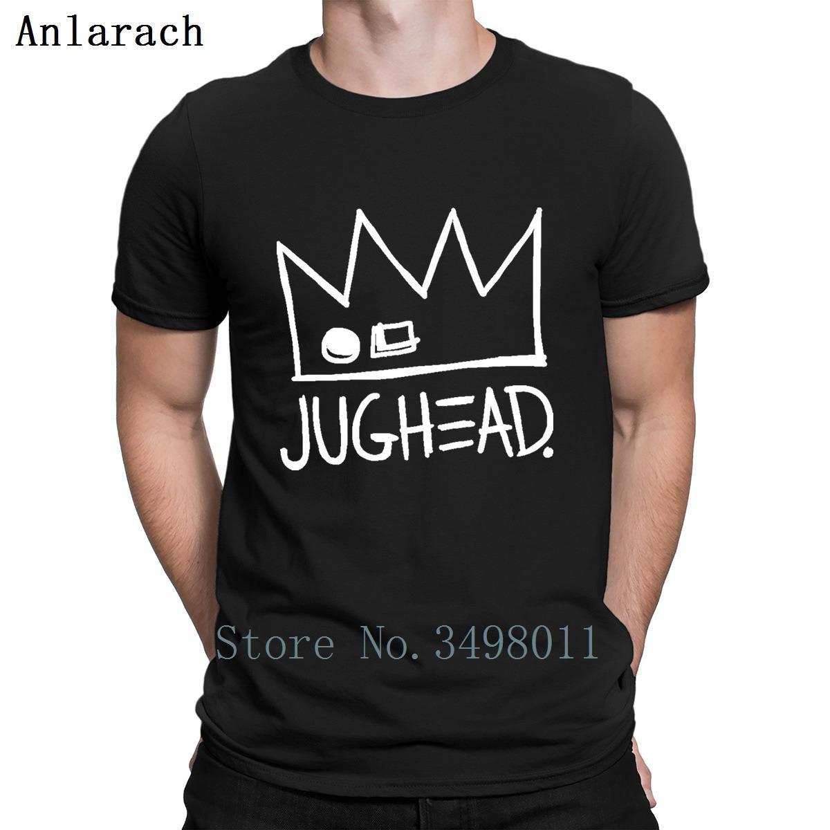 Riverdale Jughead Jones Taç Tişörtlü Özelleştirilmiş Tee Gömlek S-3XL Unisex Grafik Moda İlkbahar Doğal Tişört Erkek