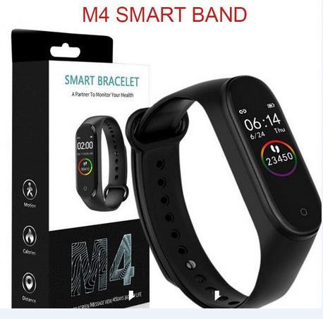 M4 الذكية الفرقة اللياقة تعقب ووتش الرياضة سوار القلب معدل ضربات القلب ووتش الذكية 0.96 بوصة smartband مراقب الصحة معصمه