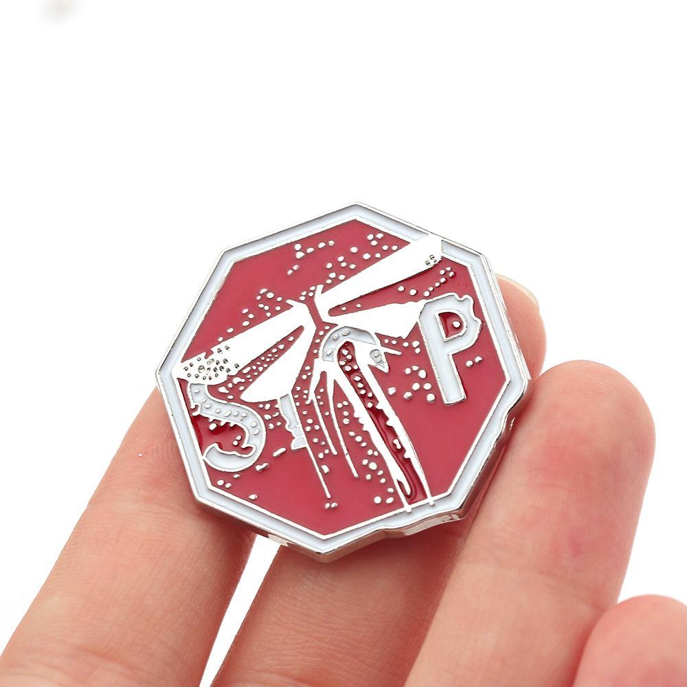 10pics jeu The Last of Us Part II Firefly Badges Broche Collection Métal 3D Souvenir Pour Fan Femmes Pin émail Bijoux cadeau