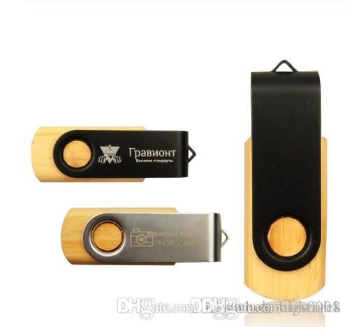 Wholesale Rotatable usb flash drive memory stick pendrive 4GB 8GB 16GB U disk 6 colors pen drive memory card (over 50pcs free custom LOGO)