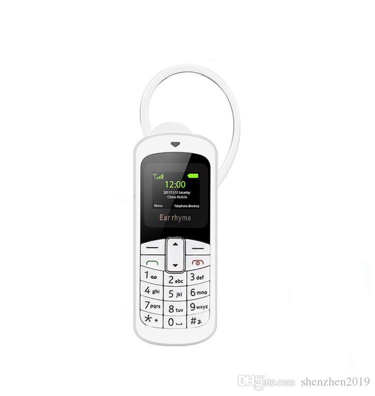 New Original Ear rhyme M9 Mini Phone Bluetooth Headset 14 Kinds Language Supporting Mobile and Unicom 2G 3G 4G Micro SIM Card