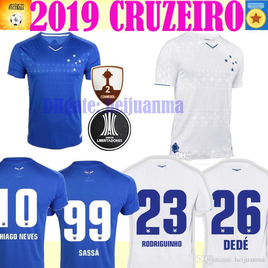 2020 CRUZEIRO thailand soccer jersey 19 20 البرازيل DE ARRASCAETA FRED ROBINHO THIAGO NEVES قميص لكرة القدم Cruzeiro home Brasil club Camisas