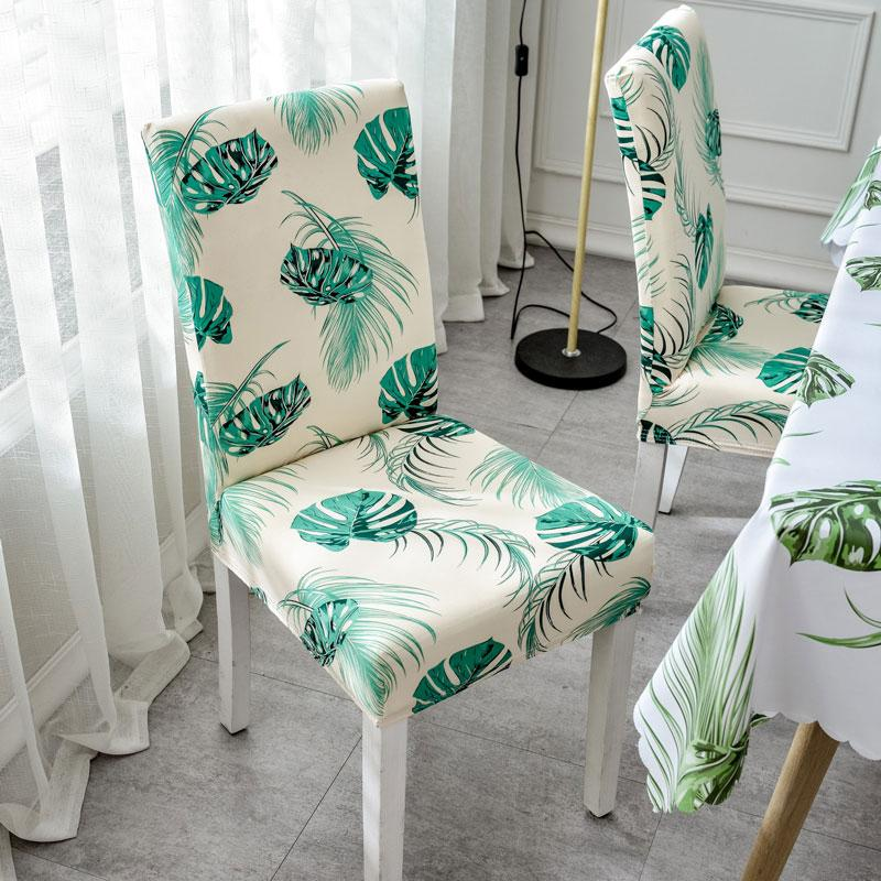 Awe Inspiring Chair Covers Stretch Removable Dining Chair Cover Backrest Modern Kitchen Seat Case Spandex Elastic Slipcovers Dining Room Seat Covers Dining Chair Pdpeps Interior Chair Design Pdpepsorg