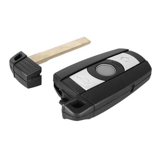 XZCFOR 315 / 868MHz 3 Botões carro de controle remoto Key Fob Caso PCF7945 Chip KR55WK49123 para E60 E61 E70 E71 E72 E81 E82 E87 E88