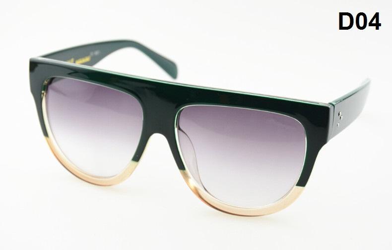 All'ingrosso-Designer di marca Audrey 41026 moda donna occhiali da sole occhiali da sole da donna con confezione al dettaglio Abbinamento colore grano leopardo