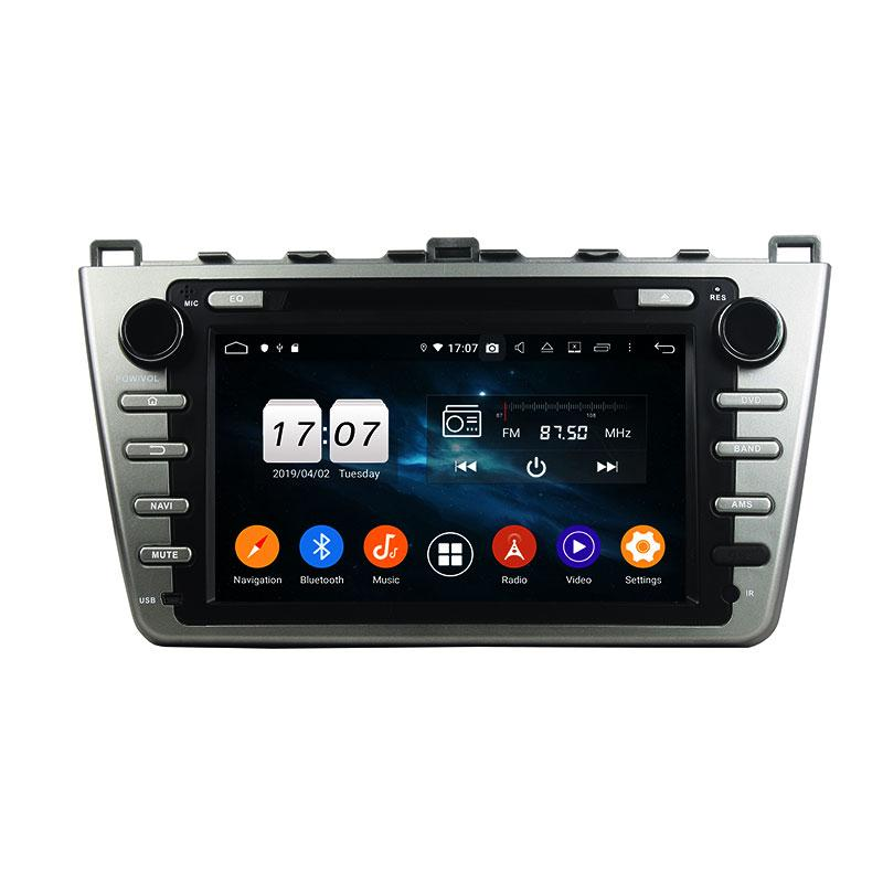 PX5 8 Core Android 9.0 4G RAM DSP Car DVD Stereo Player for Mazda 6 2008-2012