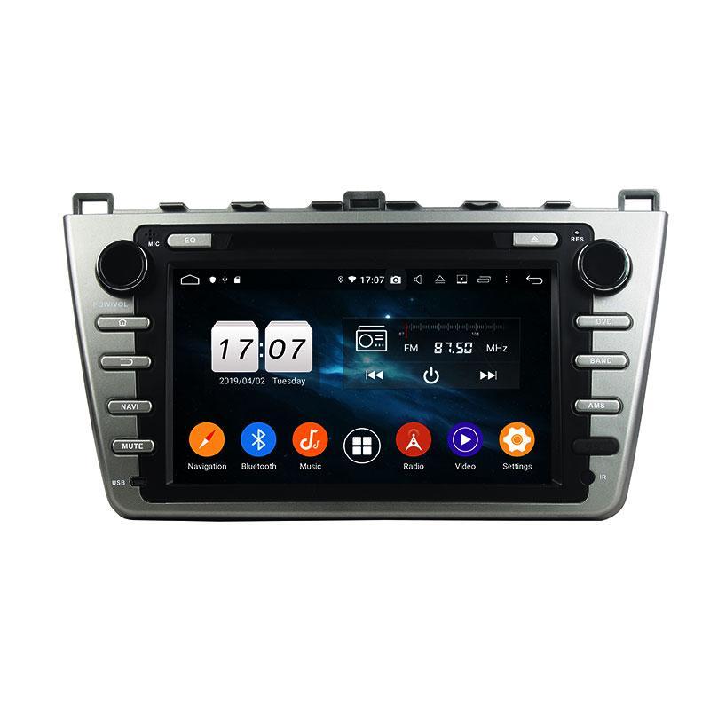 PX5 8 Core Android 9.0 4G RAM DVD DSP estéreo del coche del jugador de Mazda 6 2008-2012