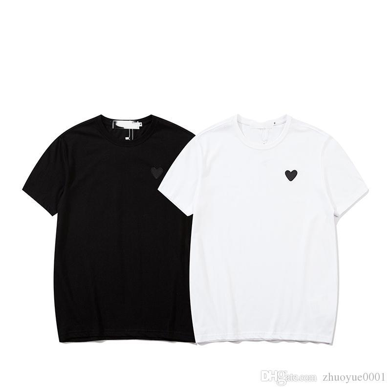 20ss / riprodurre uomini le donne Designer Europa maglietta di lusso a maglia stelle classico magliette Kanye annate scarpe nuove maglietta rossa fondali aria taglia M-XXL
