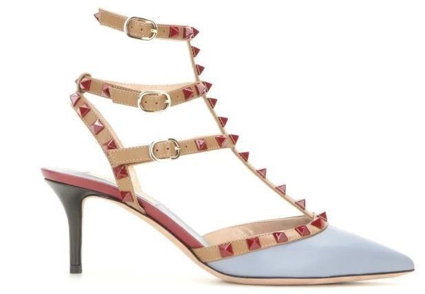 migliore qualità ~ pompe U553 34/40 PELLE PERNO appuntito tacchi alti sandali v 7,5 centimetri a punta