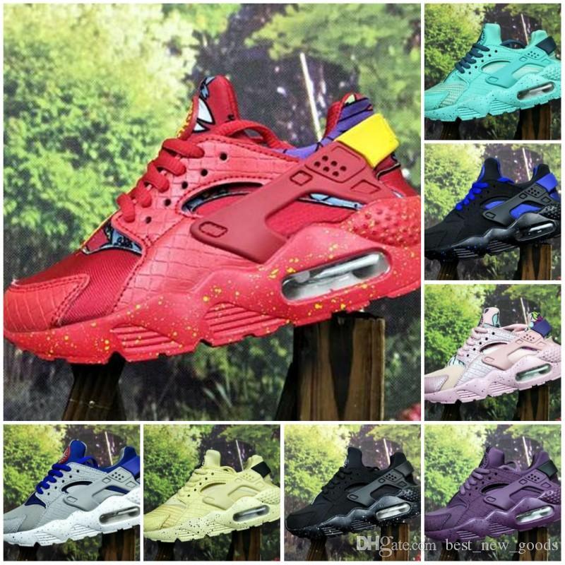 Hava Çocuklar Huarache Run 1 Ayakkabı erkek koşu ayakkabı Çocuk huaraches açık toddler atletik erkek kız Bebek sneaker