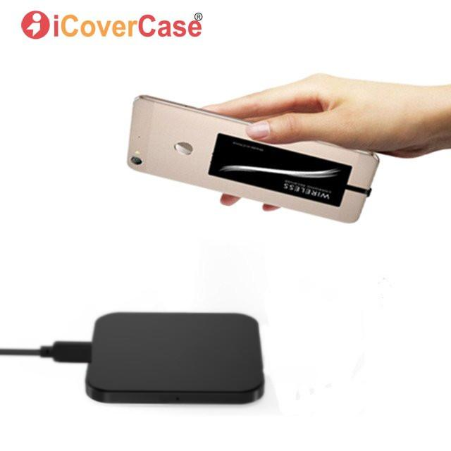 Qi Charger For OnePlus 6T 6 5 5T 3 3T Wireless Charger Universal Phone Accessories Charging Pad Power USB C Receiver Clear Case