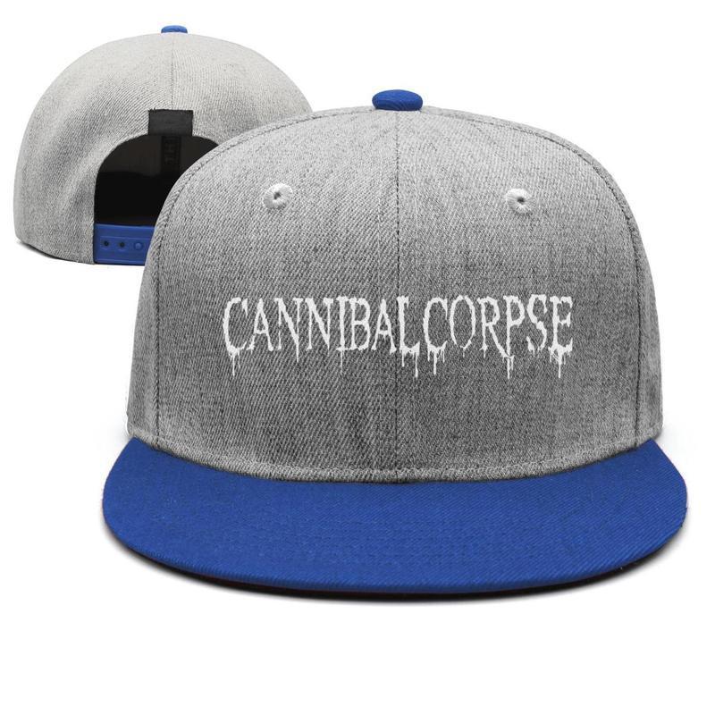 The newest unisex hat Cannibal Corpse face cute single simple retro personality hat fishing hip hop adjustable fit unique cap