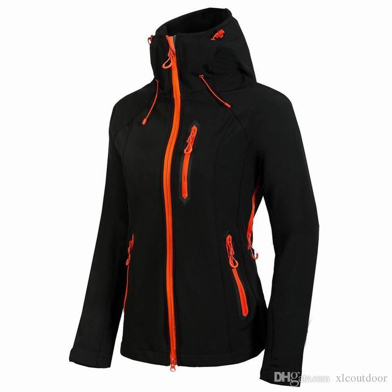 여성 여성 자켓 코트 야외 스포츠 자켓 소프트 쉘 의류 여자
