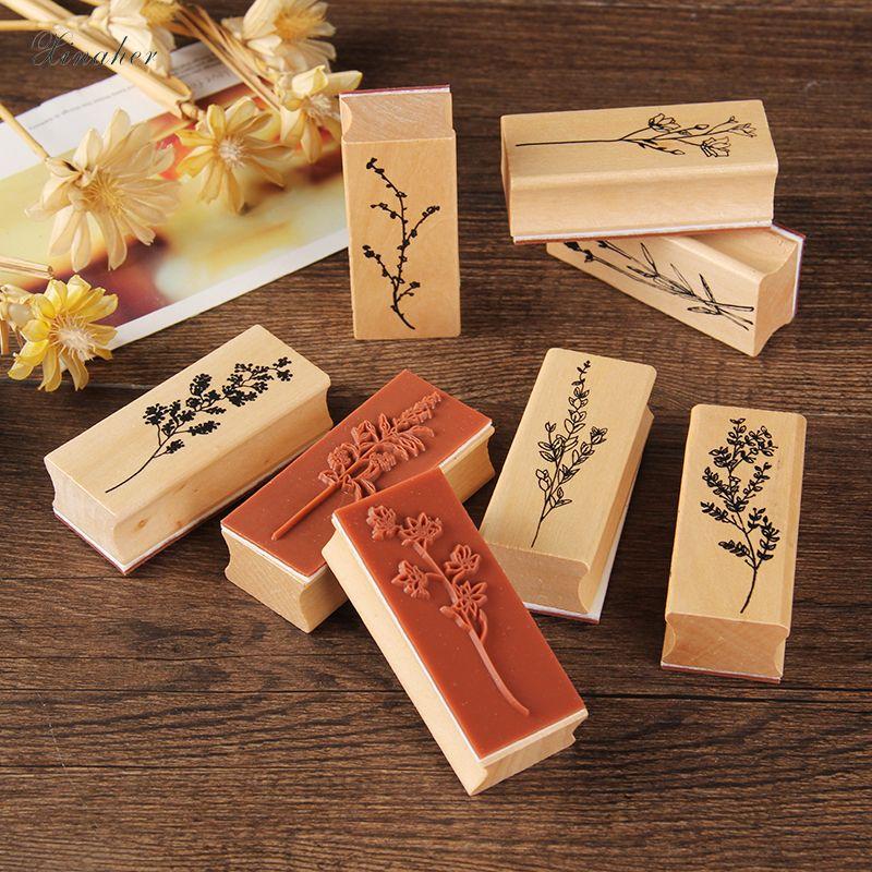 Baby Shower Games DIY Vintage Wooden Baby Stamp New Parent Gift Old Vintage Wood Stamp Farmhouse Decor Wood Handled Rubber Stamp