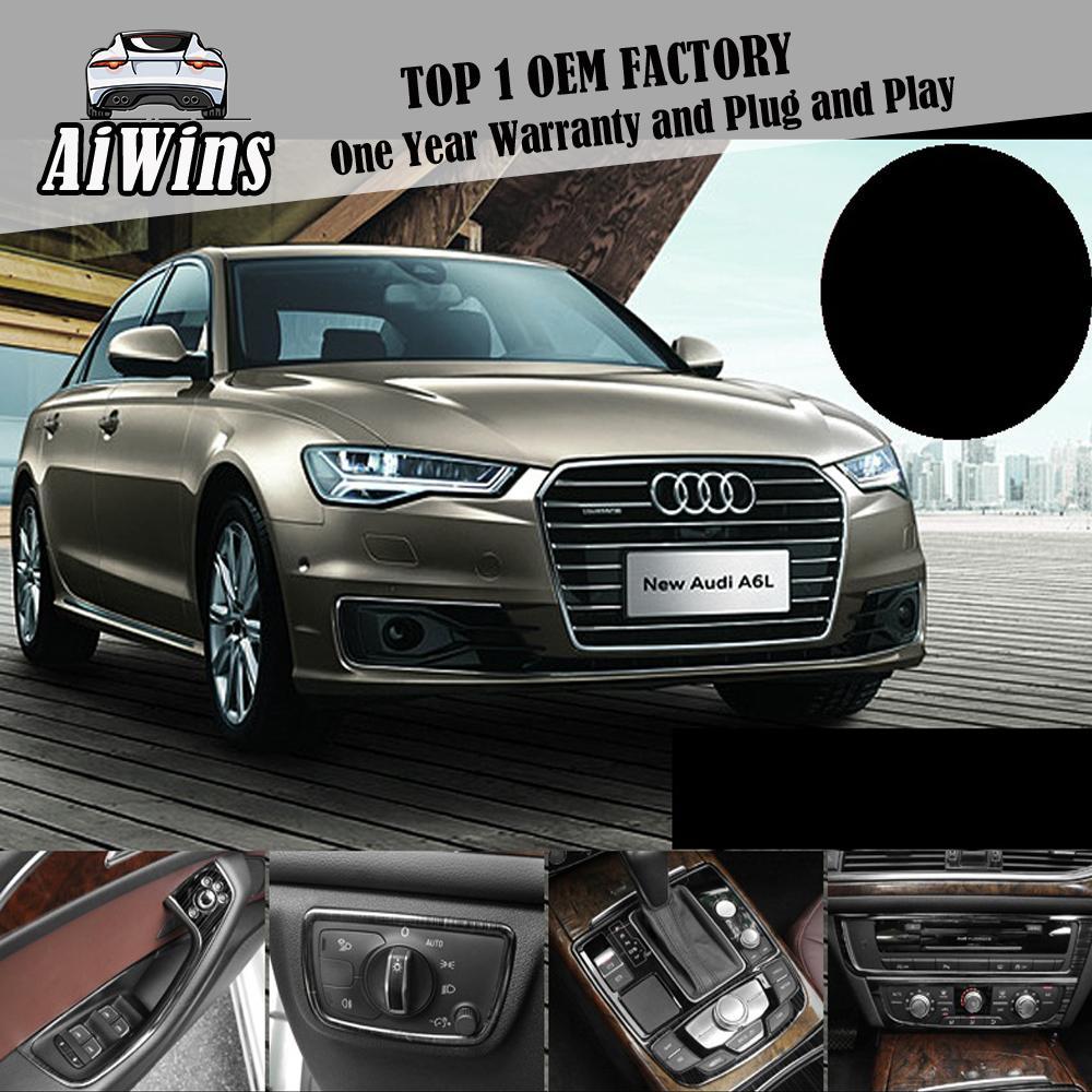 Aiwins автомобиль стайлинг A6L Black Titanium модификация костюм интерьер и модернизации специального управления центром переключения передач облицовка