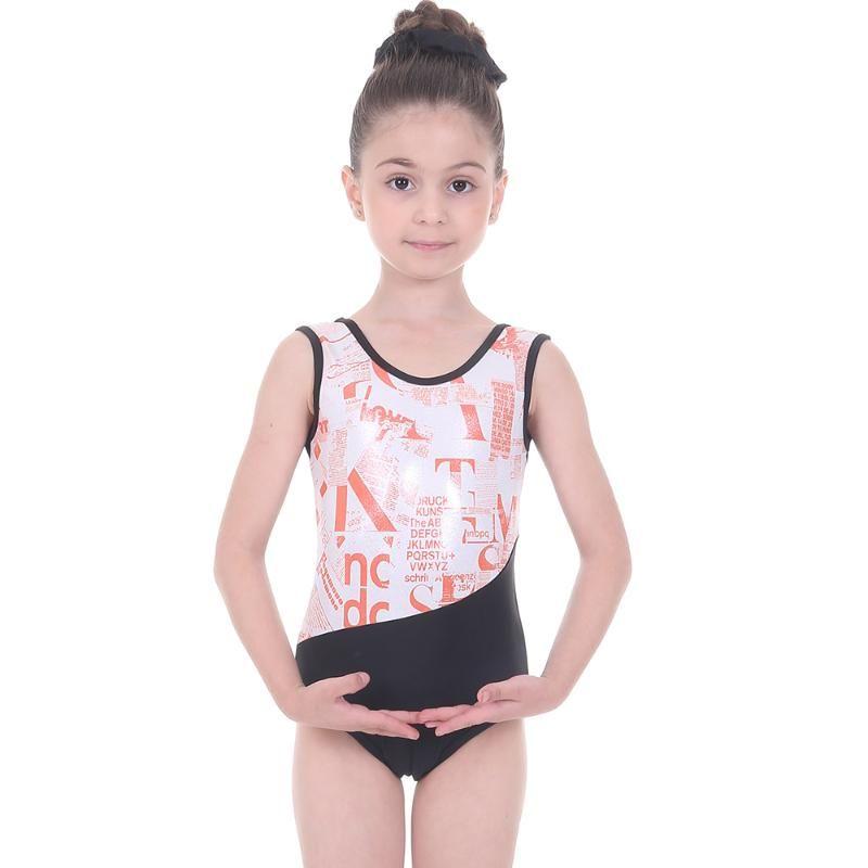 Cinta de baile Gimnasia Leotardo Ropa para niños Figura Patinaje rítmico para niñas Ballet Leotards Traje de baño