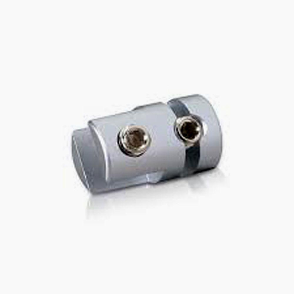 (Paquet / 4unité) collier de serrage en aluminium en suspension latérale Grippers Support Câble affichage pour étagères, graphiques, écrans, éclairage