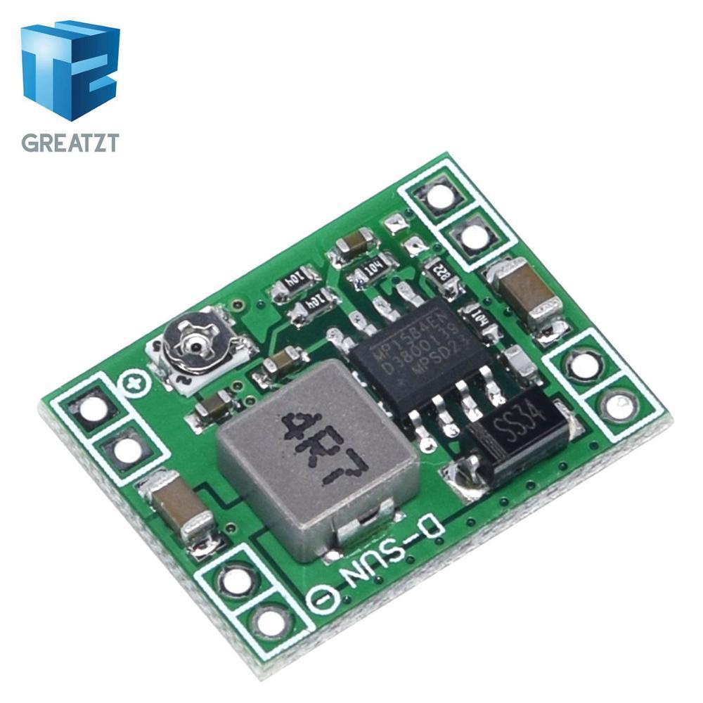 Lectronic Composants Fournitures GREATZT Ultra-petite taille DC-DC abaisseur Module d'alimentation MP1584EN 3A réglable Buck Converter A ...