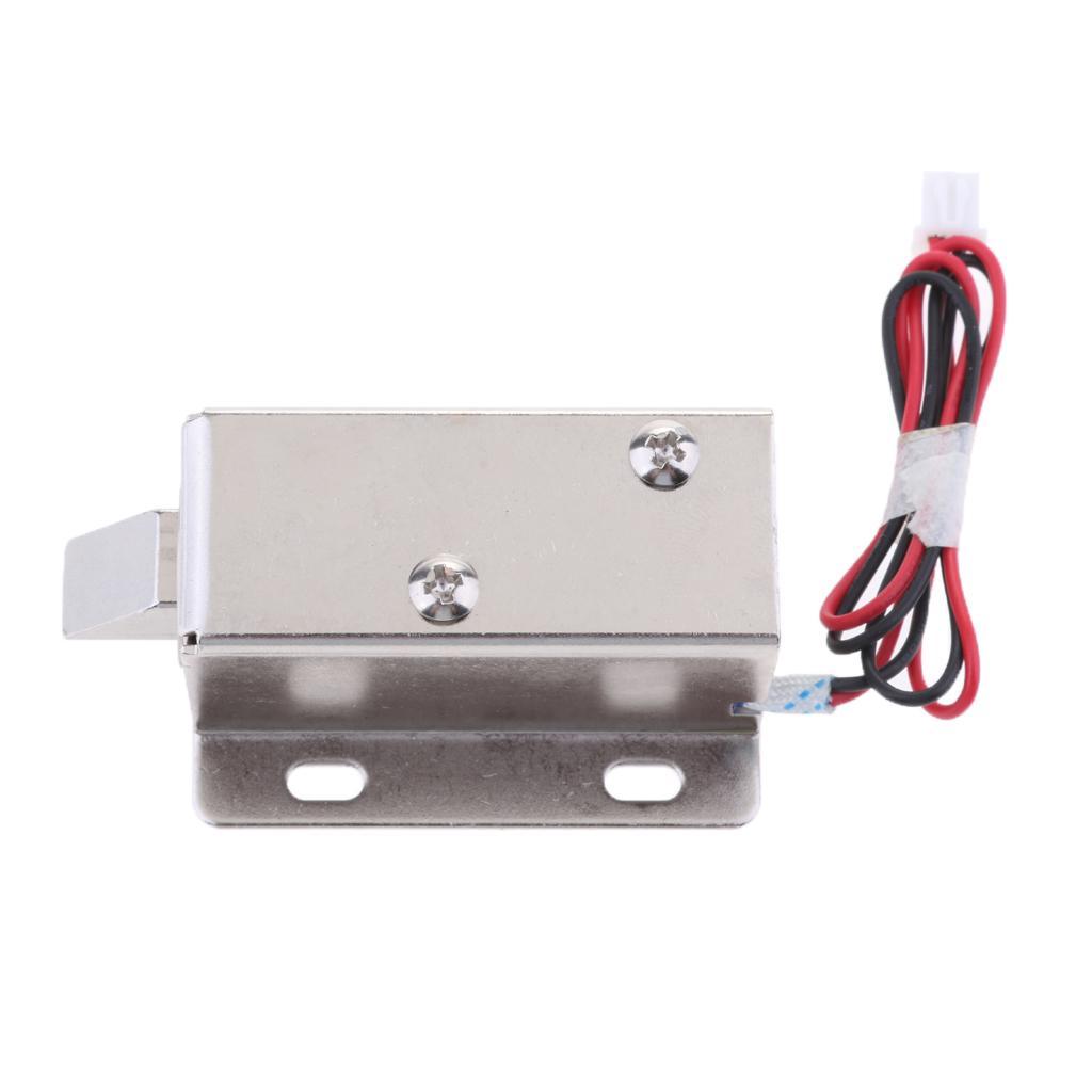 Serrure électrique 6V 1.5A Cabinet Porte de contrôle d'accès porte Locker remplacement de sécurité