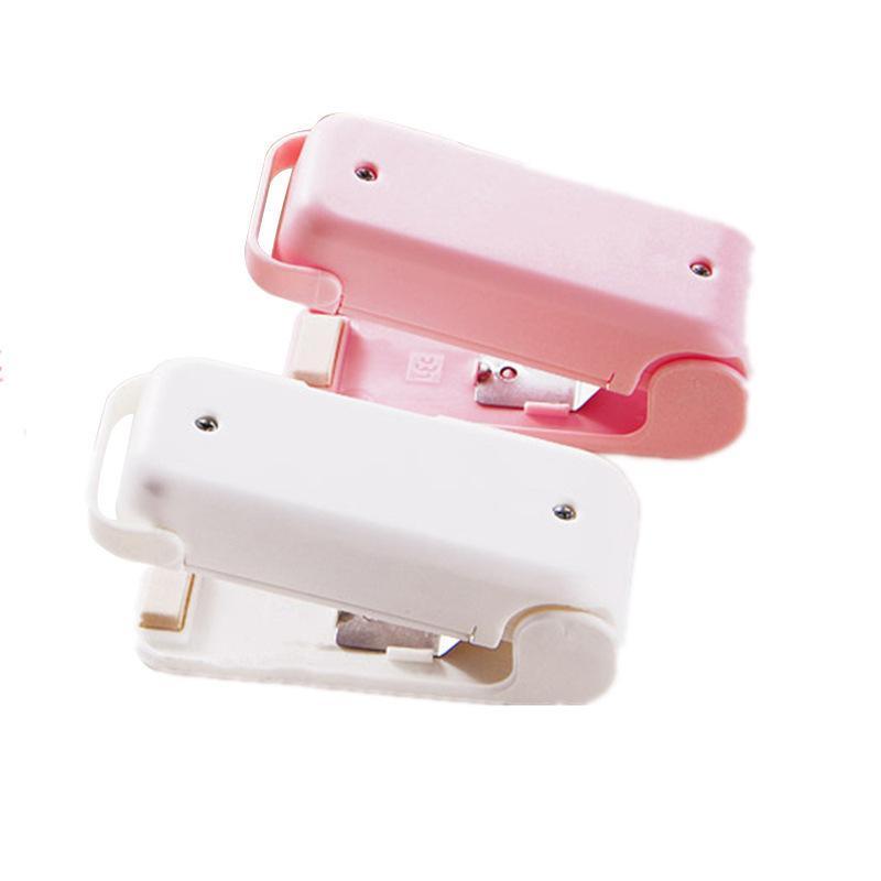 Mini portátil sellador Inicio de plástico para alimentos Snacks bolsa de sellado de la máquina Food Packaging ganchos de la bolsa de cocina WB1866