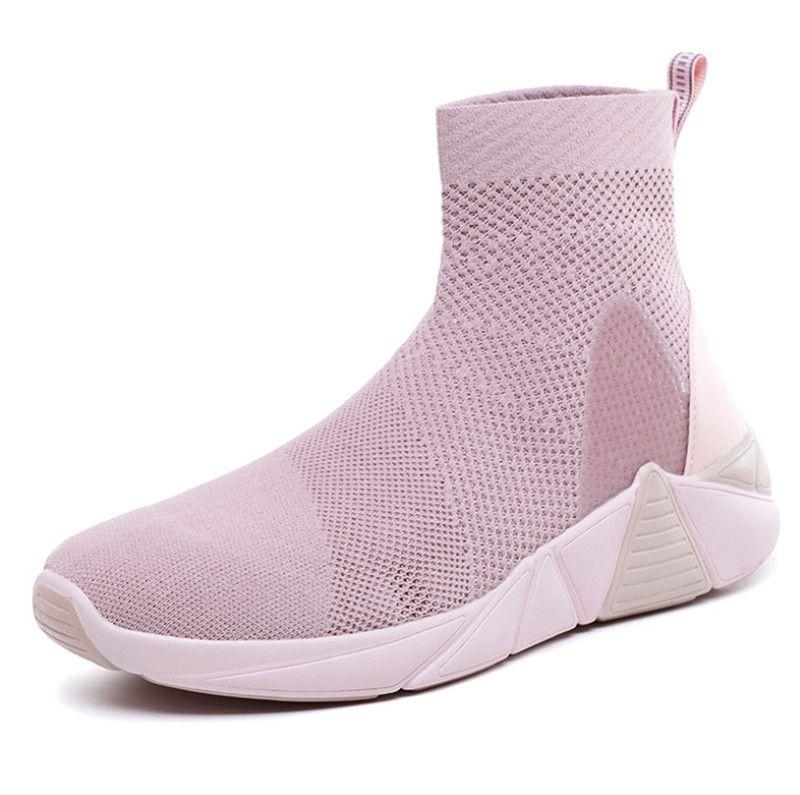 Cheap 2.020 novos sapatos caros esportes outono e inverno selvagem leves Womes moda casual sapatos cor de rosa preto totalidades verdes