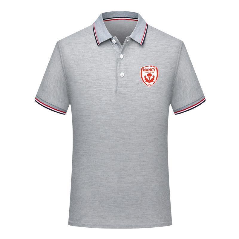 uomini nancy Calcio Polo Camicia di calcio Manica Corta polo camicia di Modo di estate di formazione Polo Camicette Sport Calcio jersey Polo Da Uomo