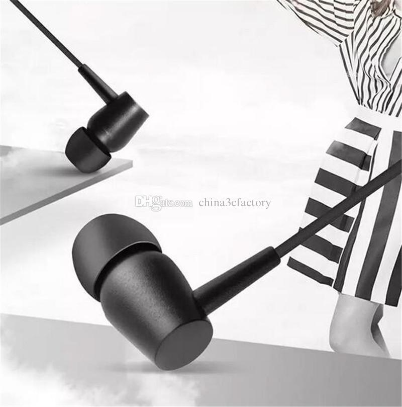 EX750 Earphone In-ear Stereo Bass Headset Wired Headphone Handsfree Remote Mic earphone For iPhone Samsung Sony 3.5mm with retail box