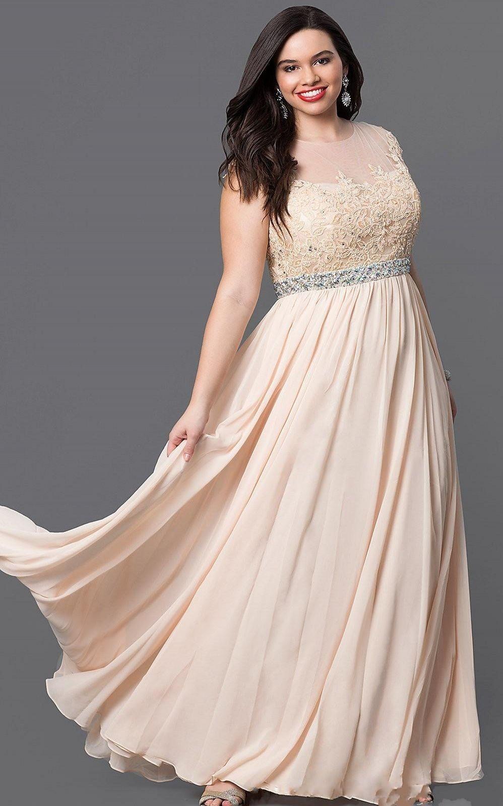 Vestidos PD5034 elegante tamanhos plus Jewel A linha de Piso de comprimento Chiffon Custom Made Formal vestido de noite Applique Beadings das Mães