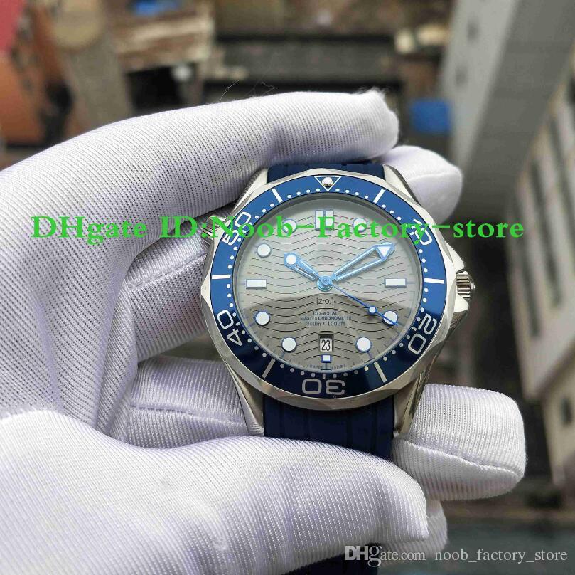 Завод Фотографии 2019 новый высокого качества 300M Часы Коаксиальная Planet Ocean 210.32.42.20.06.001 стали Наручные часы Резиновый ремень Мужские часы