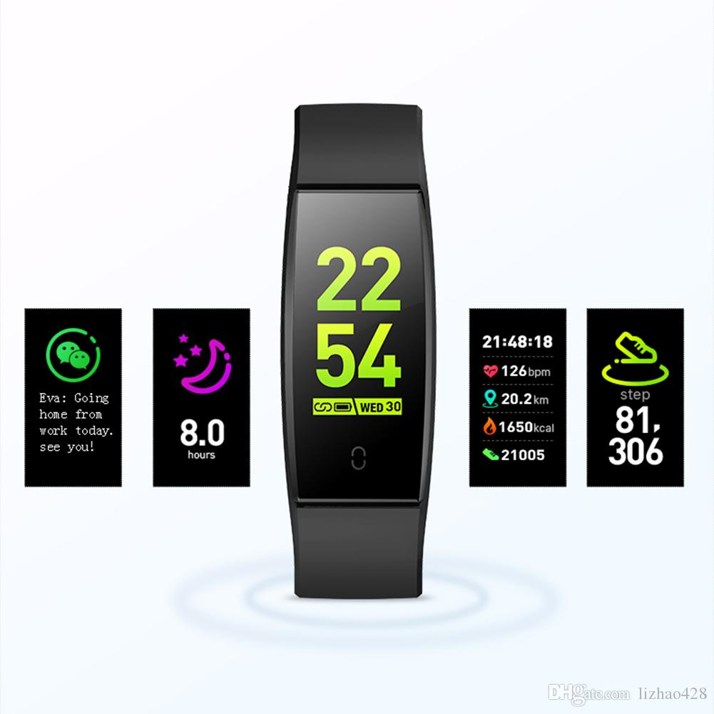 Fitness Tracker HR Waterproof Activity Tracker Watch with Heart Rate Blood Pressure Monitor,Sleep Tracking Calorie Counter