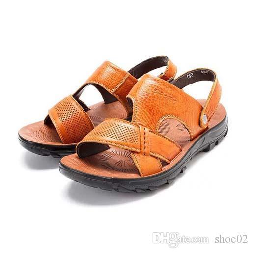 С коробкой женщины тапочки обувь пятки сандалии реальные кожаные тапочки наилучшего качества модные потертости тапочки туфли Бесплатная доставка PT182