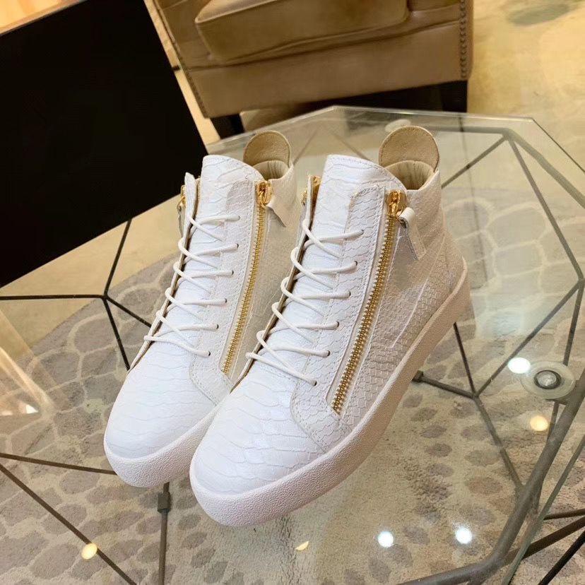 Arena espadrille Véritable Casual Cuir Femmes Hommes Zapatos Hombre Kanye West Formateurs Chaussures Blanc, Noir, Bleu, Noir, Gris hdc03