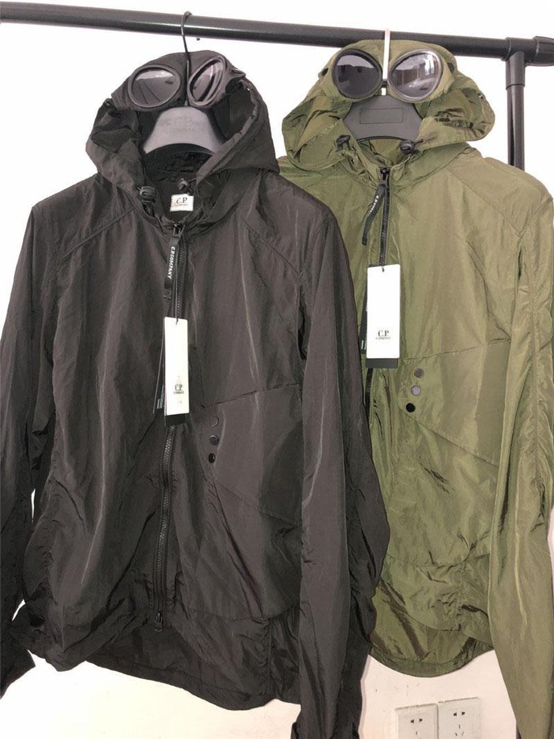 2020 высокое качество CP куртка мужская брендовая молния ветровка дизайнерская компания куртка толстовка мужские роскошные пальто толстовки уличная одежда 20032804L