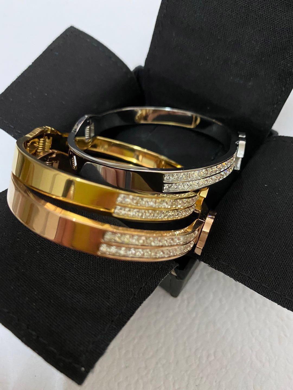 التيتانيوم الصلب الحب CZ سحر الإسورة للرجال والنساء الانخراط مجوهرات الزفاف عشاق الأزواج هدية