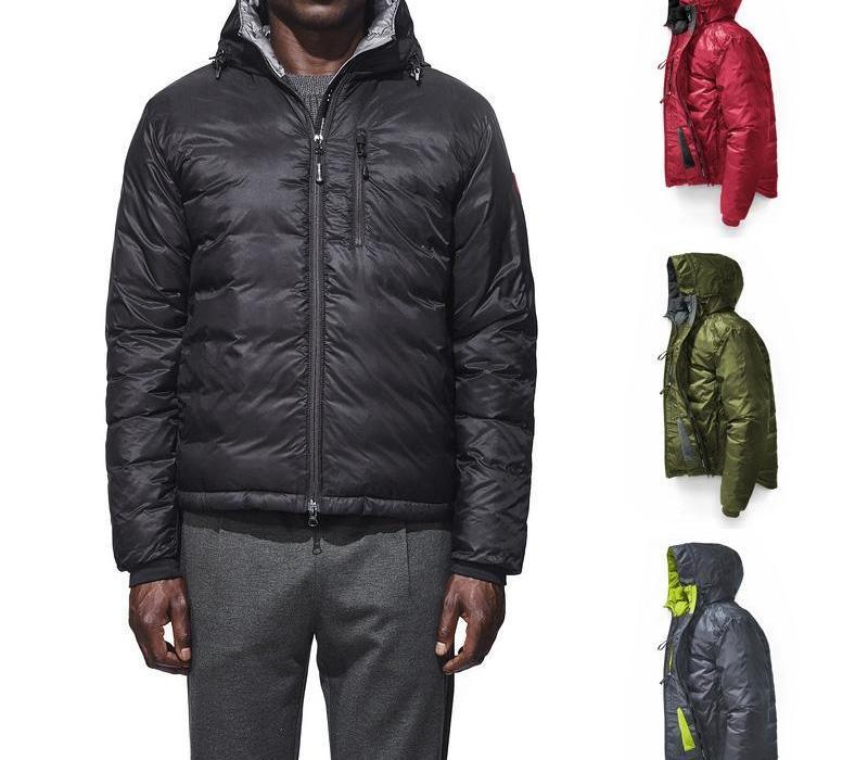 Yüksek kaliteli 2019-202 kanada erkekler Casual Kıyafet Erkek paltosu DHL ücretsiz gönderim parka ceket Açık Sport aşağı kapüşonlu kaz köşkü