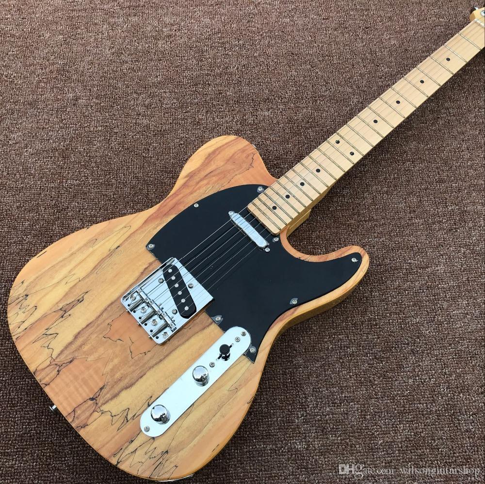 Custom Shop, classica TELE 6 stringhe Rosewood acero lavoro manuale chitarra elettrica, di legno naturale di colore guitarra
