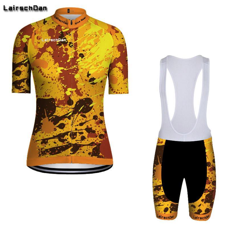 Donne lungo AO LairschDan bicicletta vestiti della bici da corsa su strada di abbigliamento completa uniforme usura della bicicletta mtb abito in jersey regolato l'attrezzatura