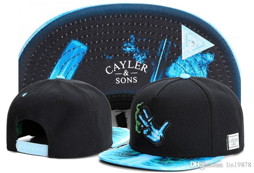 Cayler & Sons smoke Unisex Baseball Caps Sports Bone Snapback Hats Hip Hop Men Golf casquette gorras men women swag Adjustable