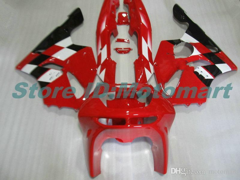 Body For KAWASAKI ZX 636 600CC ZX-636 1994 1995 1996 1997 ZX636 ZX-6R ZX600 ZX 6 R 6R ZX6R 94 95 96 97 red black HM03 Fairings