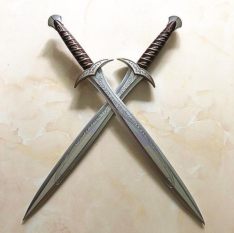 Kılıç sanatı Online SAO Kirito / Kirigaya Kazuto Elucidator / Karanlık İtici / siyah kılıç Cosplay anime kılıç pu SAO32
