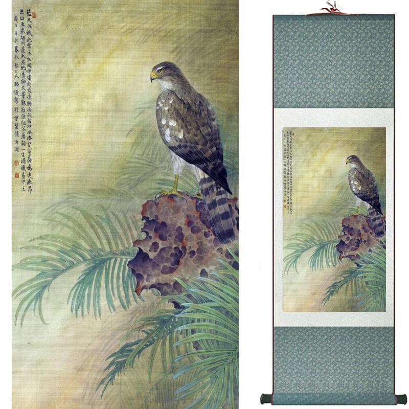 Kartal Sanat Boyama Çin Sanatı Resim Ev Ofis Dekorasyon Çin Painting2019080802
