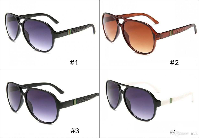 10pcs, 1065 핫 선글라스 패션 디자인 브랜드 미러 PC 렌즈 선글라스 남성 여성 디자이너 고품질의 운전 안경 무료 배송
