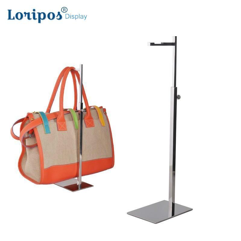 Yüksek dereceli Paslanmaz Çelik Kanca Standı Kap Asılı Standı Çantası Ekran Standı Çanta Tutucu Ekran Raf Metal Çanta Askı Raf